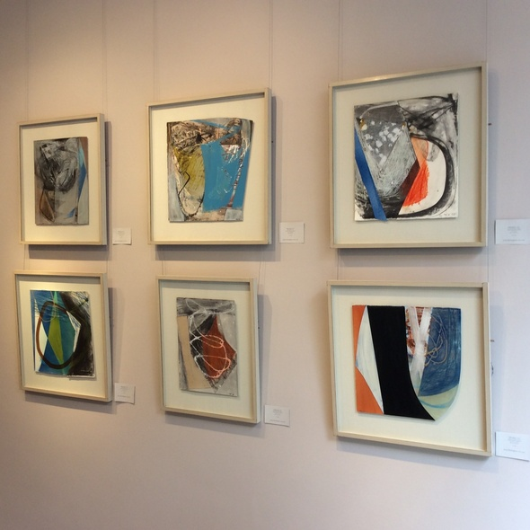 Our exhibition for Peter Joyce featured in the ATG