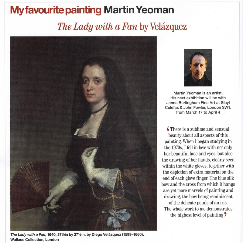 My favourite painting: Martin Yeoman